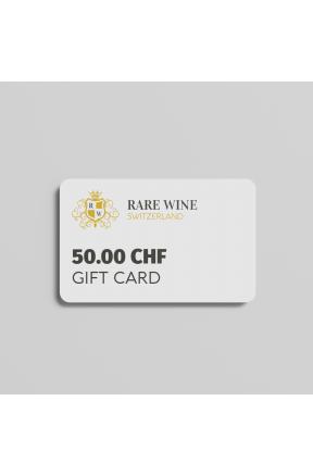 50.00 CHF gift card