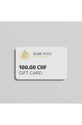100.00 CHF gift card